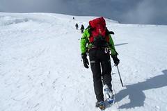 """Aufstieg zum Mount Khuiten """"Chüiten"""", 4374 m, im Altai-Gebirge, Mongolei"""