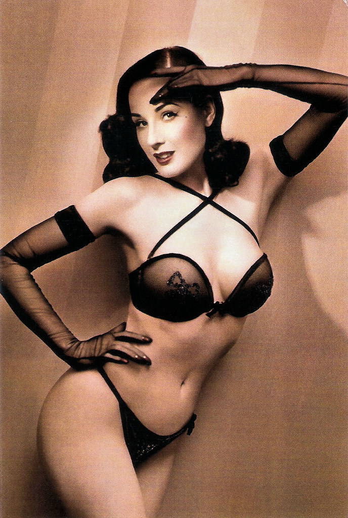 Dita Von Teese Chinese Postcard By The Oriental City Publi Flickr