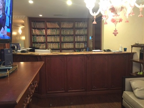 Front desk at our cosmetic dentistry in New York, NY 10065