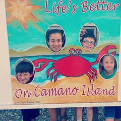 #camanoisland #beachhouse #juniperbeach #icecream and #gigglesfordays