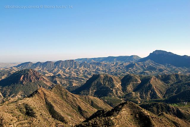 Sierra de Murcia desde la Cresta del Gallo