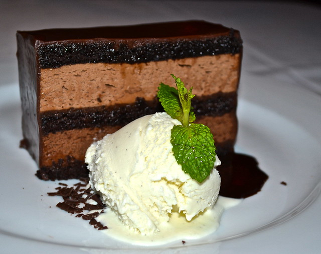 Ocean Prime Atlanta - Chocolate Cake