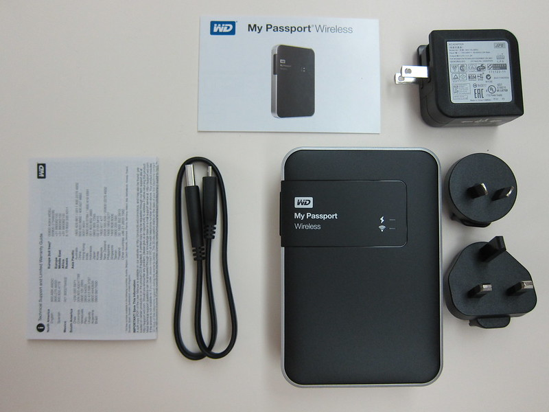 Western Digital - My Passport Wireless (2TB) - Box Contents