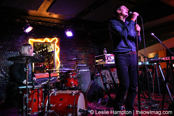 Mates of State @ Bottom of the Hill, San Francisco 1/23/15