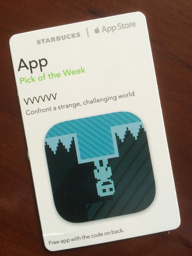 Starbucks iTunes Pick of the Week - VVVVVV