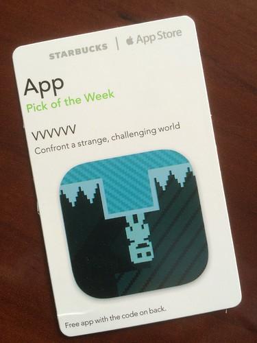 Starbucks iTunes Pick of the Week - VVVVVV
