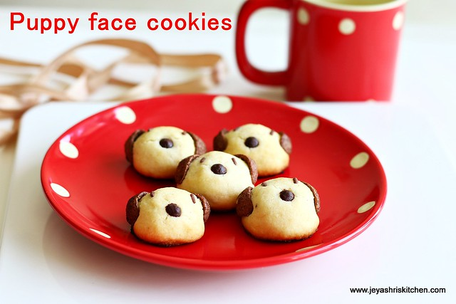 puppy faced-cookies