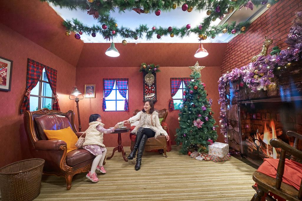在薑餅屋享受聖誕氣氛
