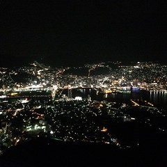 seen... #nightview @ mount inasa #nagasaki #japan