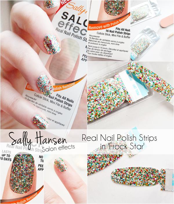 Sally Hansen Nail Polish Strips Frock Star