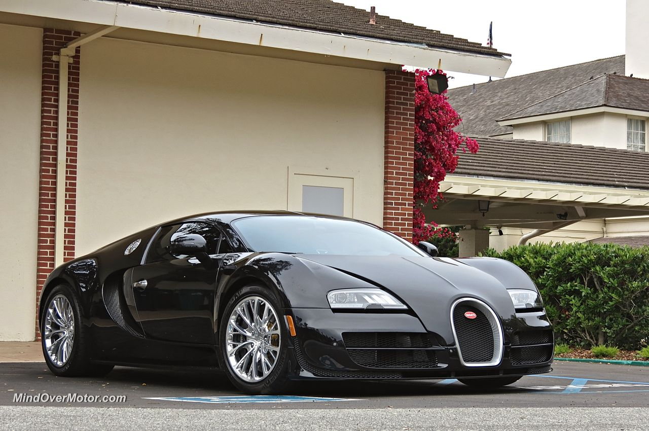 Bugatti Veyron Super Sport Pebble Beach