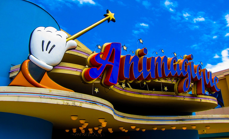 Animagique Sign in Walt Disney Studios Park