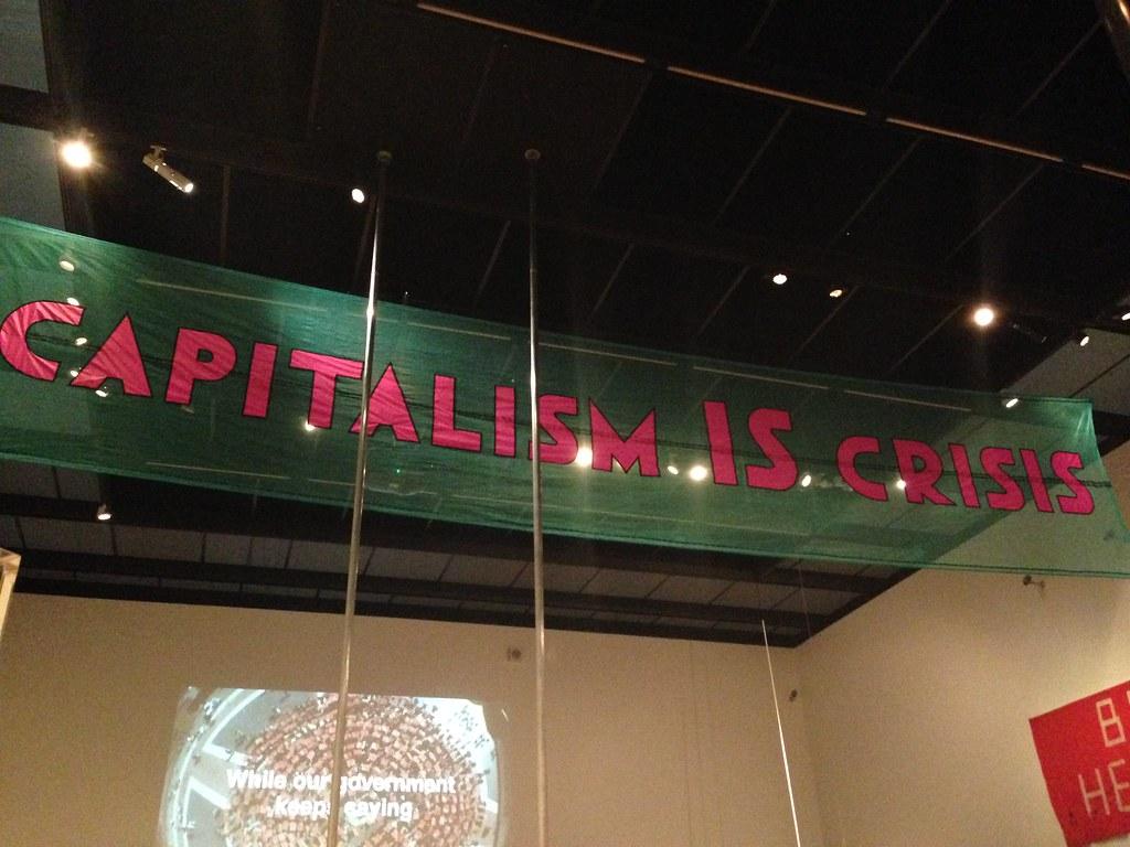 Capitalismo é a crise