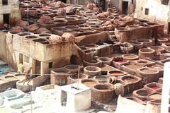 Chouara Tannery, Fez, Morocco