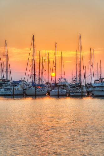 sunrise stpetersburg florida processing nik hdr photomatix