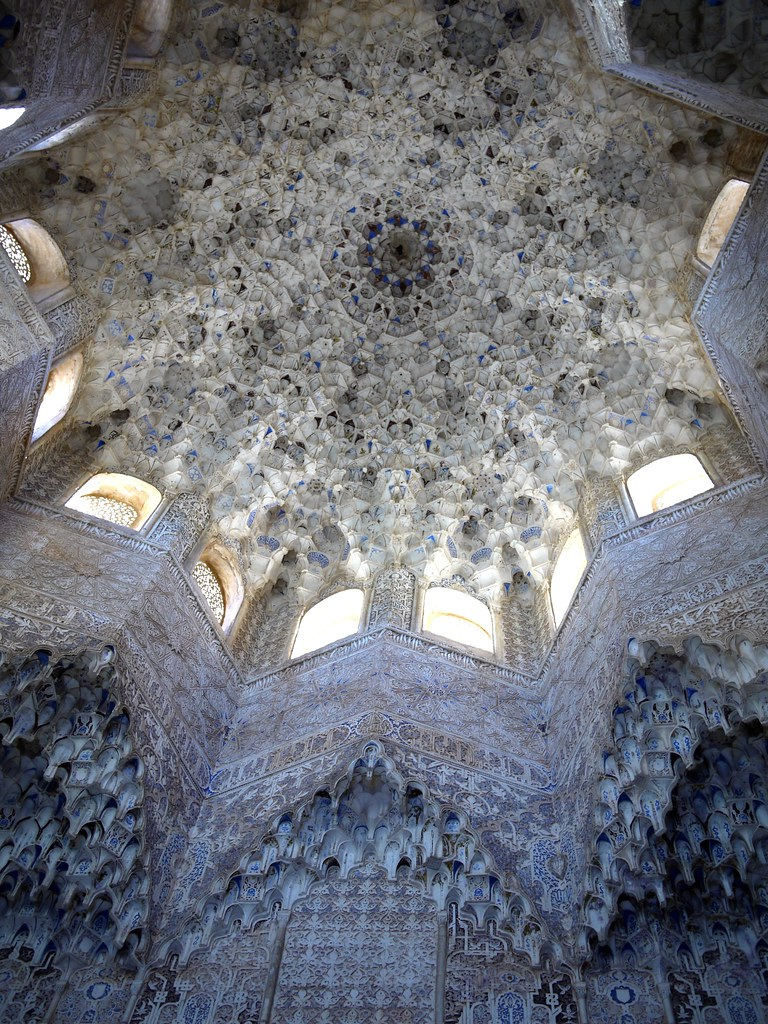 Spain Granada Alhambra Palace Muqarnas 2
