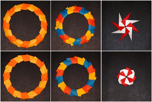 Origami 'Vliegensvlug' (Jose Meeusen)