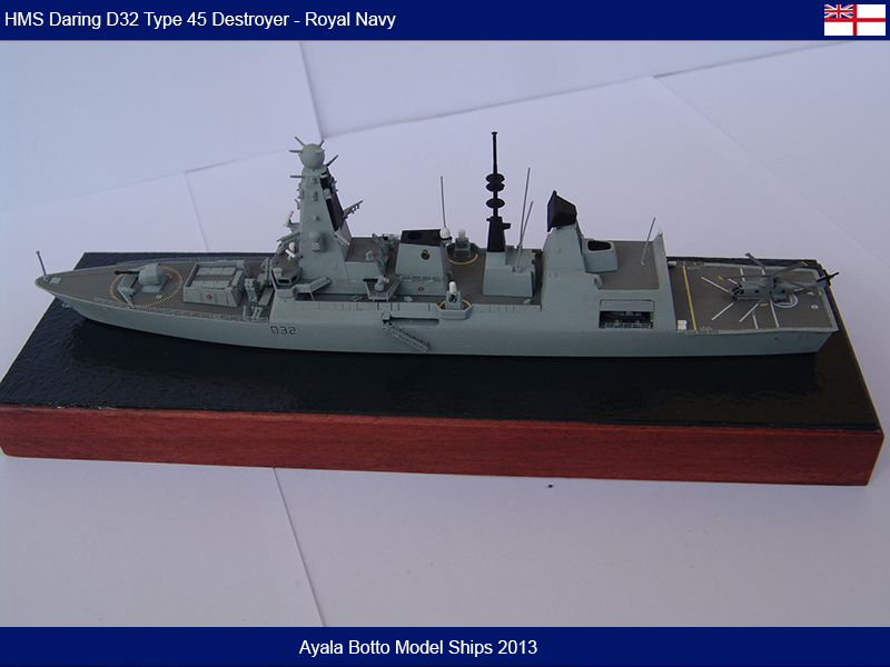 HMS Daring D32 Type 45 Destroyer Royal Navy - Cyber Hobby 1/700 16055286093_d57fa75127_c