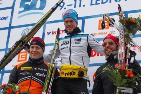 Zkrácenou ČEZ Jizerskou 50 vyhrál Pedersen, Řezáč doběhl sedmý