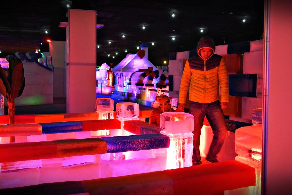 台中高鐵-2015正宗哈爾濱冰冰燈冰雕展-52