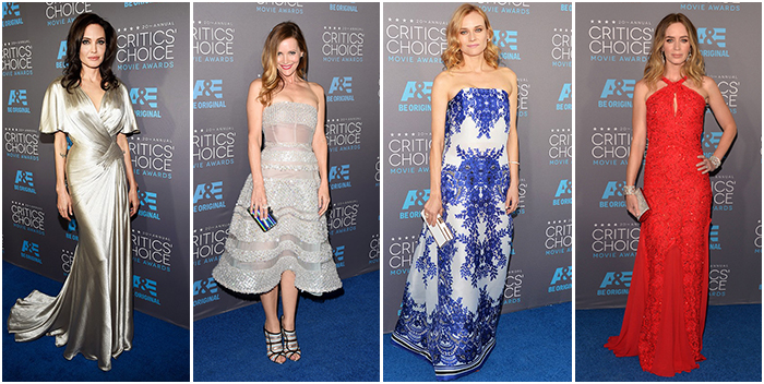 Critics Choice Awards Best Dressed 1