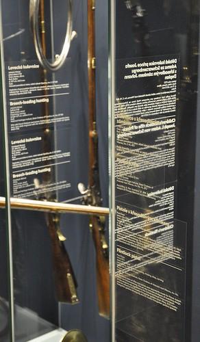 Výstava Hrady a zámky objevované a opěvované (19.12.2014-15.12.2015). Rej popisek