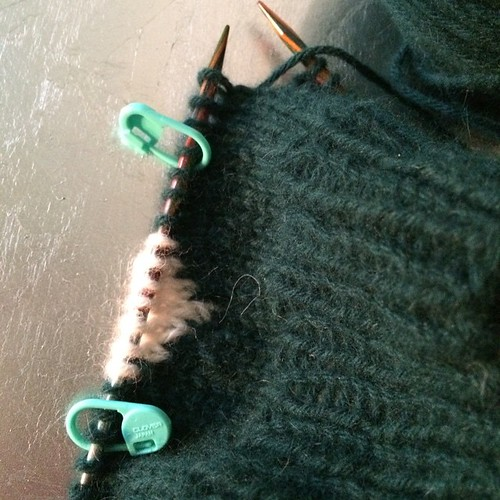 Preparing the class intarsia  in the round:) Preparando il corso intarsia in tondo:) #knitting