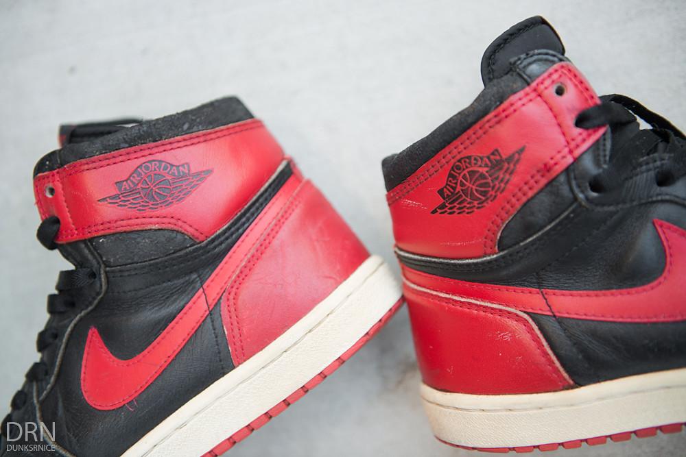 1985 black & Red I's.
