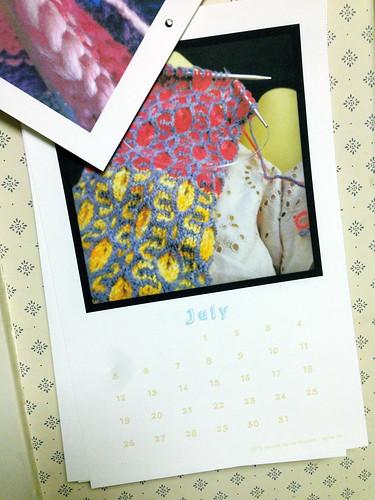 2015 leethal knits calendar!
