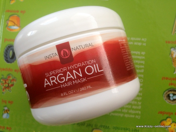 InstaNatural Argan Oil Hair Mask Haircare Review