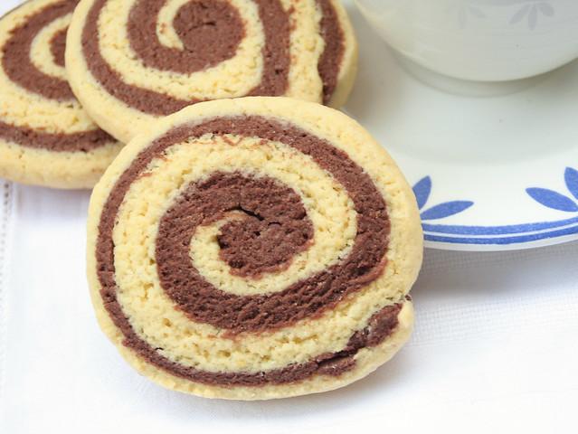 Biscotti Girandola Bicolore Bimby