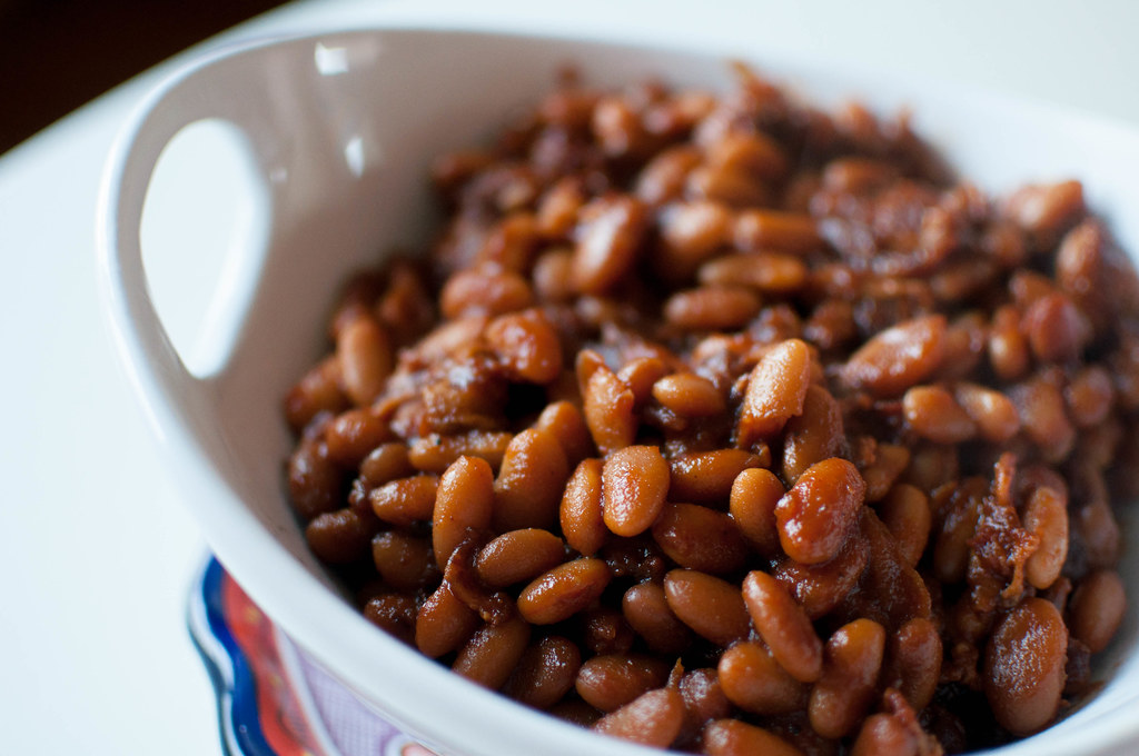 Bacon and Brown Sugar Baked Beans 1