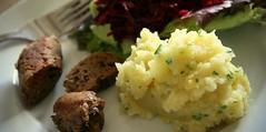 Veggie Sausage and Mash Reformat Monica