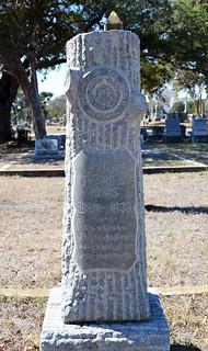 Pedro S. Rivas - Woodmen of the World grave monument