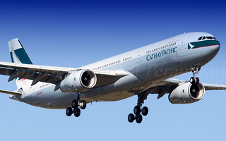 F-WWKI // B-LBI Cathay Pacific Airbus A330-343 - cn 1598