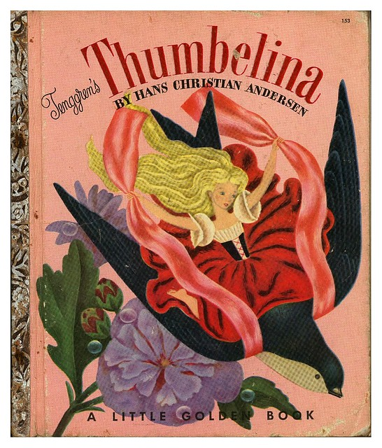 006-Tenggren's Thumbelina-Illustrated Gustaf Tenggren-Copyright 1953-via goldengems.blogspot