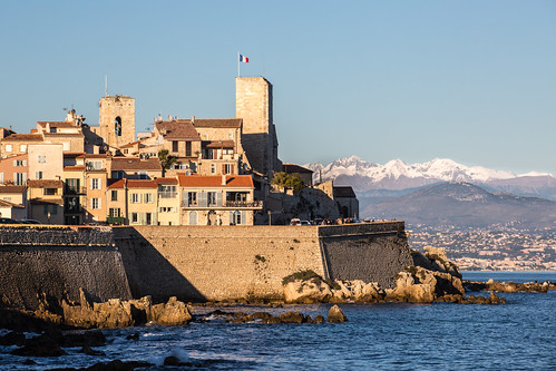 Antibes in winter
