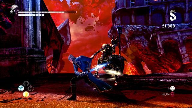 DmC Devil May Cry: Definitive Edition — геймплейное видео Vergil's Bloody Palace