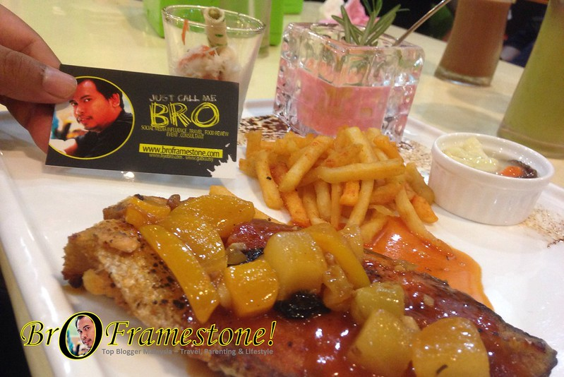 Pan Grill Salmon Steak - Next Station BTGF, Seksyen 13, Shah Alam