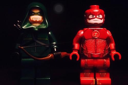 Lego CW Arrow and Flash