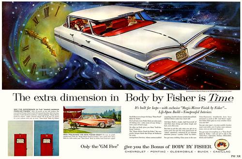 1959 ... cars in spaaaaace!