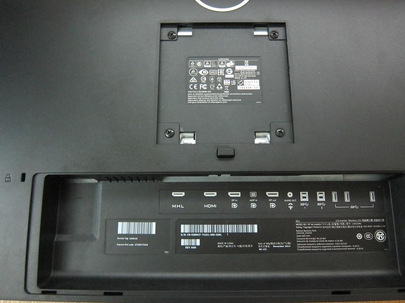 Dell UltraSharp 34 Curved Monitor (U3415W) - Ports