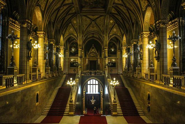 Parlamento de Hungría en Budapest