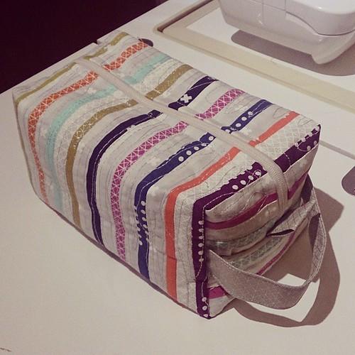 #cottonandsteel pouch!