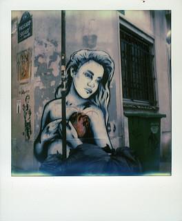 """Zabou """"Lost Lover in Paris"""" at Butte aux Cailles (Paris 13)"""
