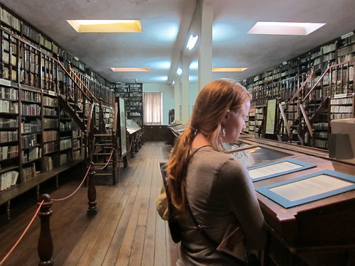 Incredible Archive Library in Recoleta Museum