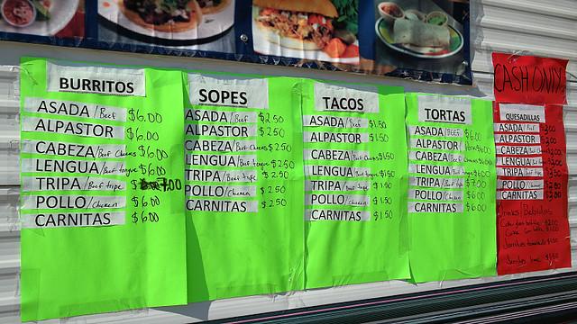 Menu El Rey Del Tacos in Perry, Iowa
