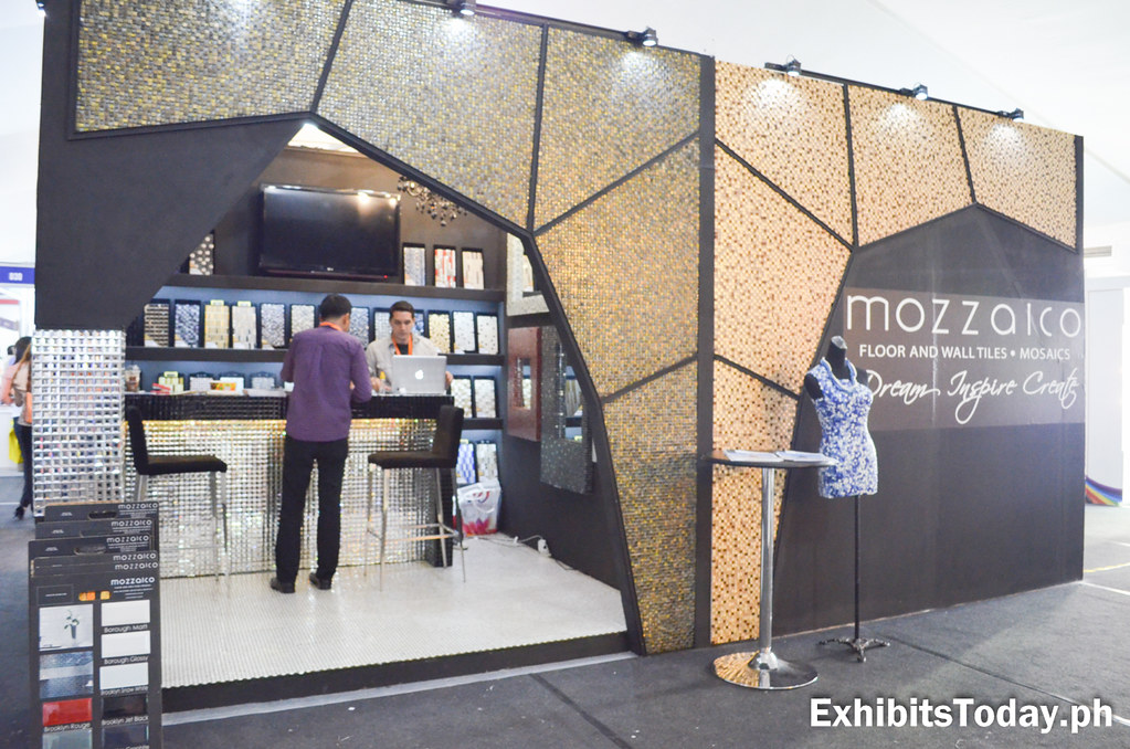 Mozzaico Trade Show Booth