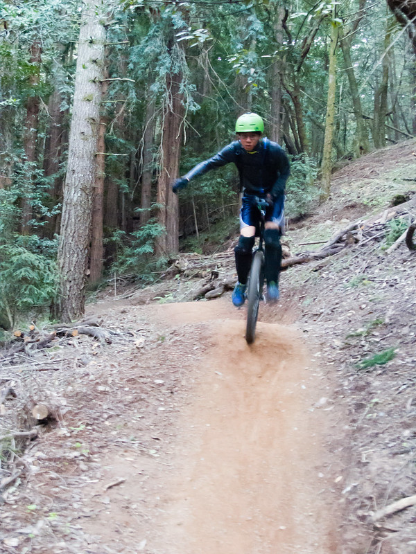 Harrison on the flow trail