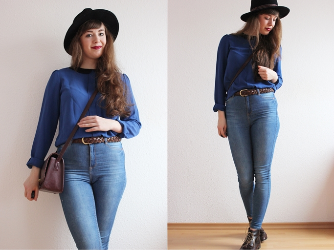gina tricot molly jeans - high waist jeans outfit blogger-tile